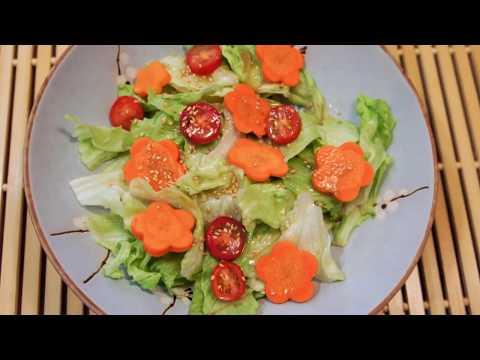 How to Make Restaurant Style Japanese Salad Dressing (和風ドレッシングの作り方)