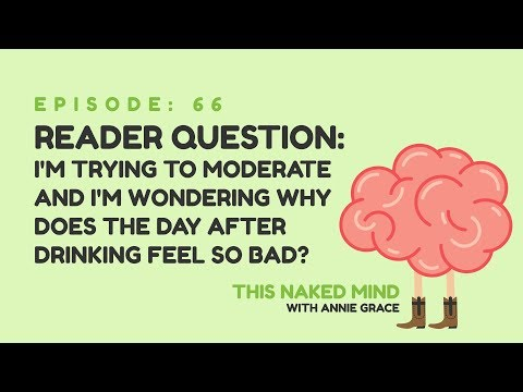 EP 66: Reader Question - I'm trying to moderate, why does the day after drinking feel so bad?