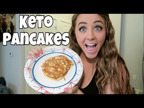 Keto Full Day of Eating | Low Carb Pancakes & Chicken Shish-Kabobs!