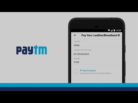 How to Pay your Landline/Broadband Bill using Paytm?