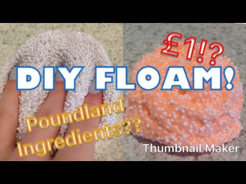 DIY Floam- Poundland Slime!