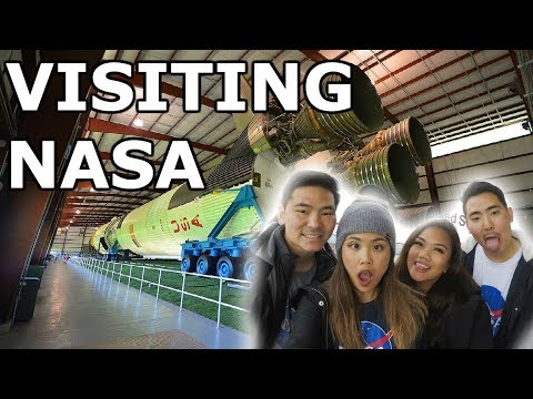 VISITING THE NASA SPACE CENTER & THE AQUARIUM RESTAURANT IN HOUSTON, TX