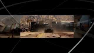 Форсаж 4  (Fast & Furious)   Blu Ray Menu (2)
