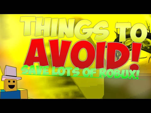 ROBLOX TRADING GUIDE | Things to AVOID, Profit EASIER!!