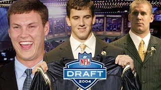Eli Almost a Brown, Big Ben Falling, & Rivers Traded All Part of Dramatic 2004 Draft Day | NFL Films