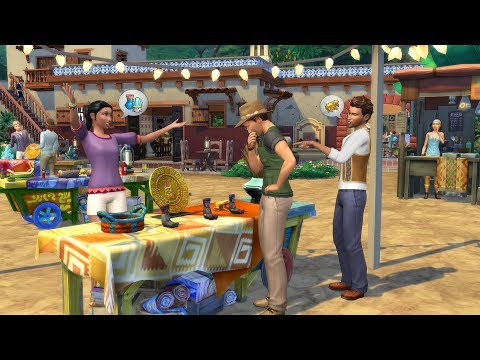 The Sims 4 Jungle Adventure: Selvadorada Overview Video