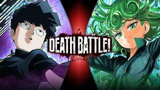 Mob VS Tatsumaki (Mob Psycho 100 VS One Punch Man) | DEATH BATTLE