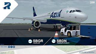 Prepar3D v4.4 – AZU6587 - A320-214 | Guarulhos ✈ Presidente Prudente |   IVAO