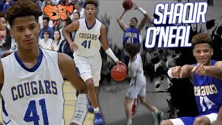 BEST O'Neal IN THE FAMILY??? Shaqir O'Neal Potential Continues to Rise During Junior Season