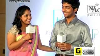 GV Prakash with Saindhavi at NAC Platinum Day of Love