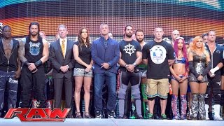 WWE opens Raw with a Memorial Day 10-bell salute: Raw, May 30, 2016