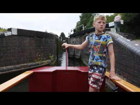 The Black Country Ring Canal Trip (and Drayton Manor Theme Park)