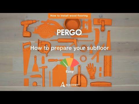 How to prepare your subfloor   Wood Flooring Tutorial by Pergo