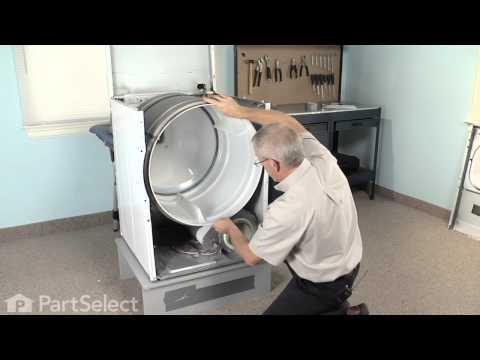 Dryer Repair - Replacing the Multi Rib Belt (Whirlpool Part# 40111201)