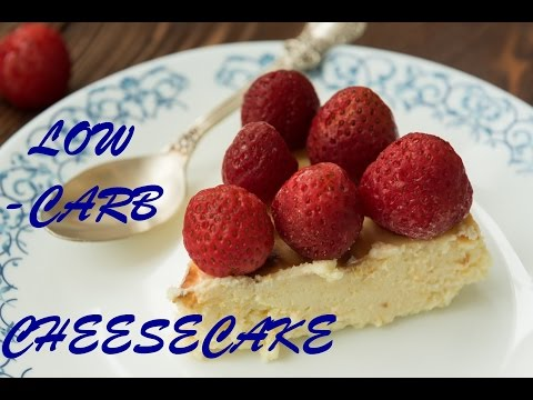 Low Carb Strawberry Cheesecake - Perfect for Weight Watchers