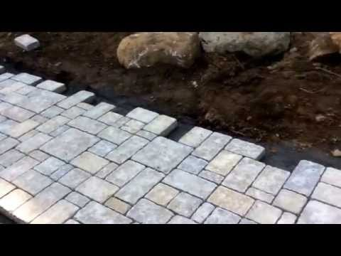 Landscape Networker | How to install a paver walkway or patio. Walkway and patio contractors NJ