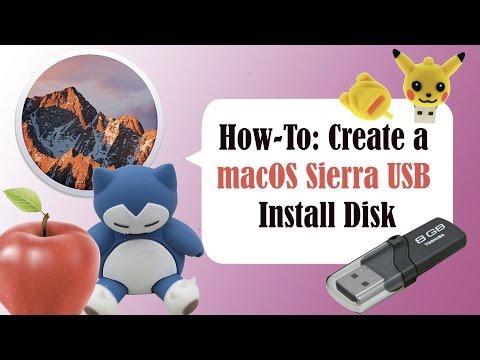  How to Make a Bootable Mac OS X 10.12 Serra USB Thumb Drive