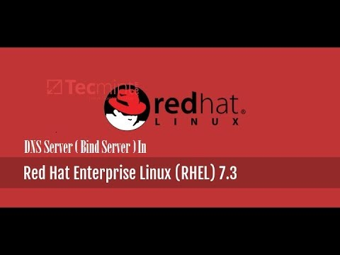 Configure DNS Server ( Bind Server) In RHEL-7.3