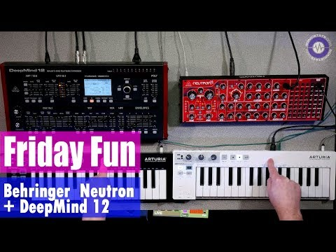 Friday Fun - Behringer Neutron and DeepMind 12