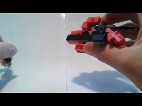 Lego Transformer mini Tank #42