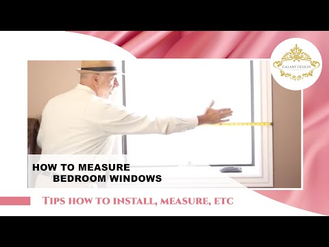 How To Measure Side-By-Side Windows For Custom Drapes | Galaxy Design Video #184