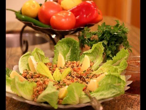 Quinoa Tabouli Recipe - Gluten Free - Heghineh Cooking Show
