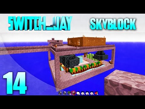 Skyblock Episode 14 How To Build A Mob Grinder In Skyblock Part 2 (1.7.2) W/Switch_jay (Minecraft)