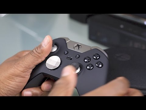 Elite Controller for the Xbox One and Xbox One X