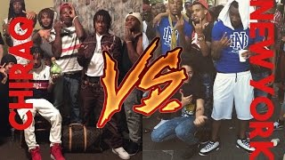 New York Rappers Vs. Chiraq Rappers Part 1