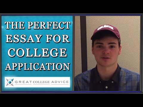 Student reflects on writing essays with help from Great College Advice
