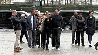 EXCLUSIVE - Kings of France !!!  Dr. Dre is at the door