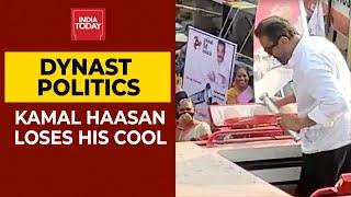 Torchbearer Kamal Haasan Throws Away MNM Symbol Torchlight In Frustration During Roadshow| Breaking