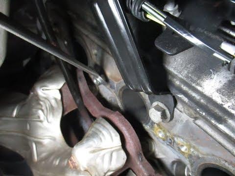 GM  broken exhaust bolt repair