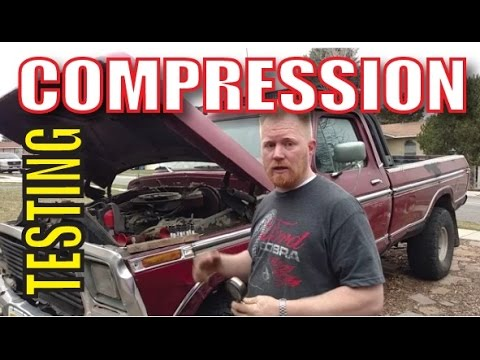 Compression Test on an Engine
