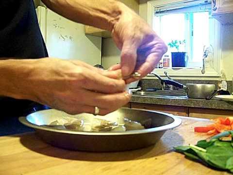 Shrimp Pasta Primavera 1/2 Chef John the Ghetto Gourmet