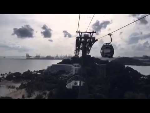 Hyperlapse of new cable car service