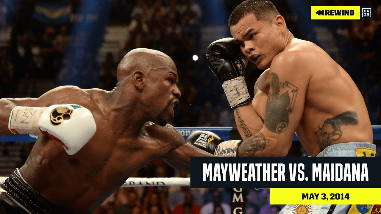 FULL FIGHT | Floyd Mayweather Jr. vs. Marcos Maidana (DAZN Rewind)