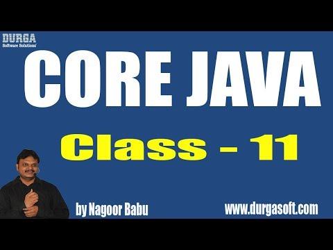 Learn Core Java Programming Tutorial Online Training by Nagoor Babu Sir On 14-04-2018