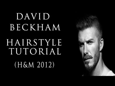 David Beckham Inspired Hairstyle Tutorial 2012 -  JesseMinty.com