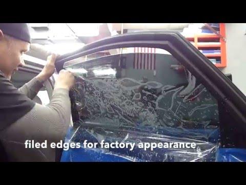Installing 3M  Window Tint - Raleigh, North Carolina