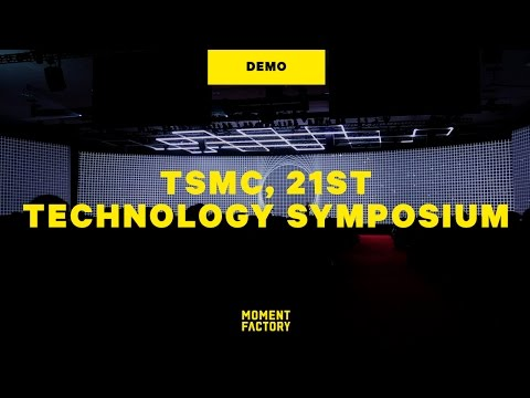 TSMC 21st Technology Symposium: how visuals can enhance a speech [DEMO]