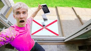 Last to DROP iPhone Wins $10,000 Call From Game Master!! (Unbreakable Challenge)