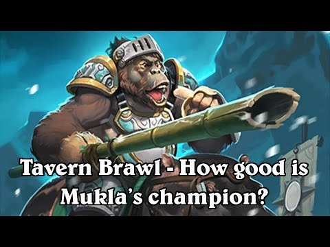 hearthstone tavern brawl #29 mukla's champion otk