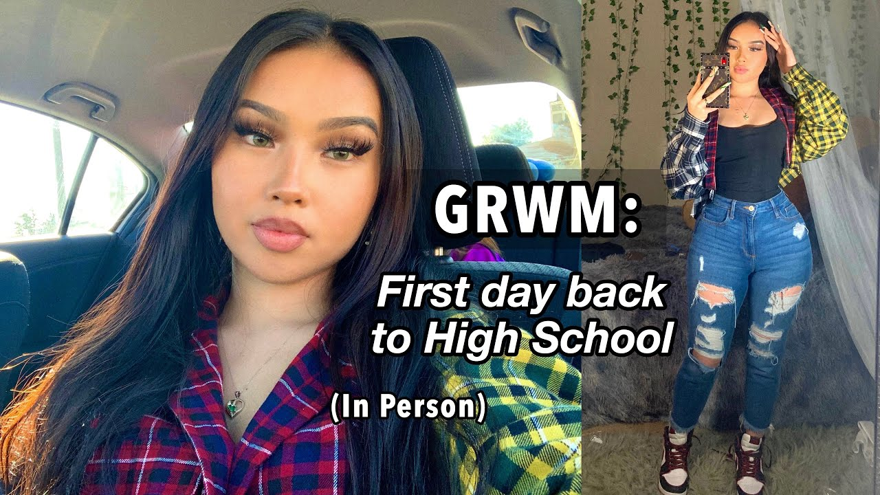Waking up at 5𝐀𝐌 to get ready for School + High School Vlog (𝗦𝗲𝗻𝗶𝗼𝗿)🦋