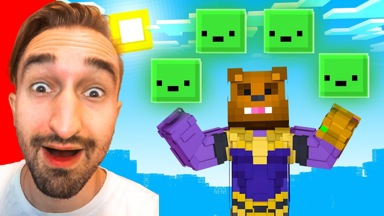Finding A LEGENDARY Slime Pet To STOP THANOS in Insane Craft w/ SSundee