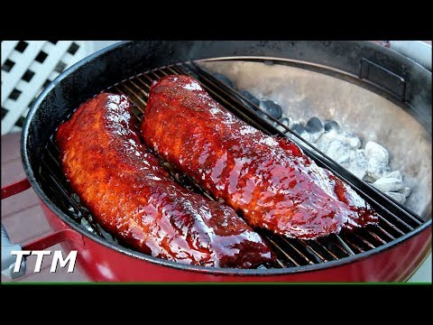 Baby Back Ribs on the Weber Charcoal Grill