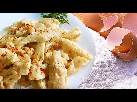 Egg and Flour Dumplings