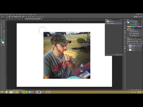 Photoshop CS6 Tutorial - 67 - How to use the History Brush