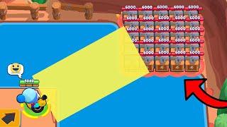 INSANE LUCKY in SHOWDOWN MAP *00000000000*!!!Brawl Stars Funny Moments & Glitches & Fails #358