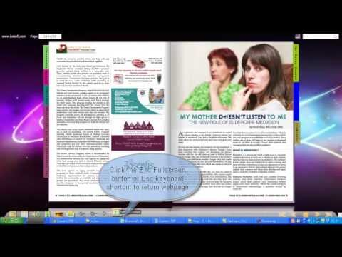Convert PDF Magazine to HTML for Website - Show PDF Magazine on Website with Page Flip Effect